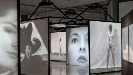 Documentation of Marina Abramović performances from