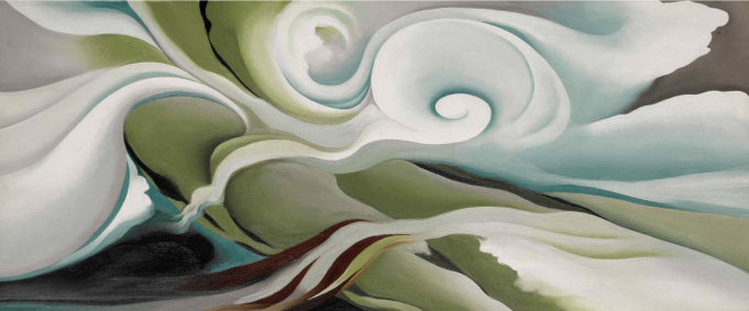 Georgia O'Keeffe, 'Nature Forms – Gaspé',