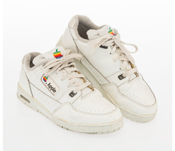 Apple, Apple Computer Sneakers, late 20th