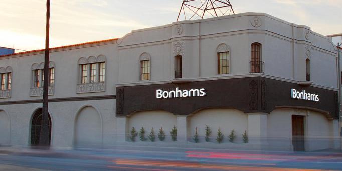 Bonhams in Los Angeles.