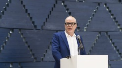 Hans-Ulrich Obrist, the artist director of the Serpentine Gallery.