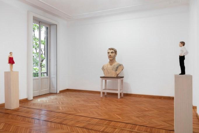 Installation view of Monica De Cardenas's