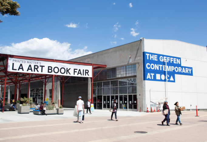 The exterior of the Geffen Contemporary