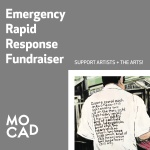 MOCAD's Emergency Rapid Response Fundraiser