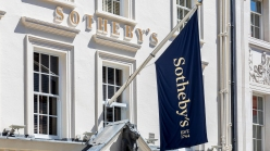 Exterior of Sotheby's in London.
