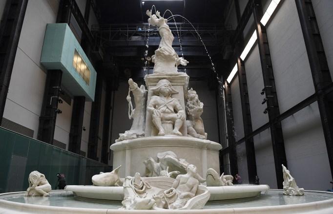 Kara Walker's sculpture 'Fons Americanus' is