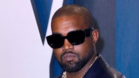 Kanye WestVanity Fair Oscar Party, Arrivals,