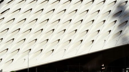 The Broad in Los Angeles.