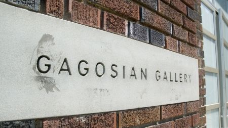 Gagosian gallery in New York.