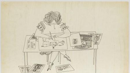 Saul Steinberg, 'Untitled', 1949.