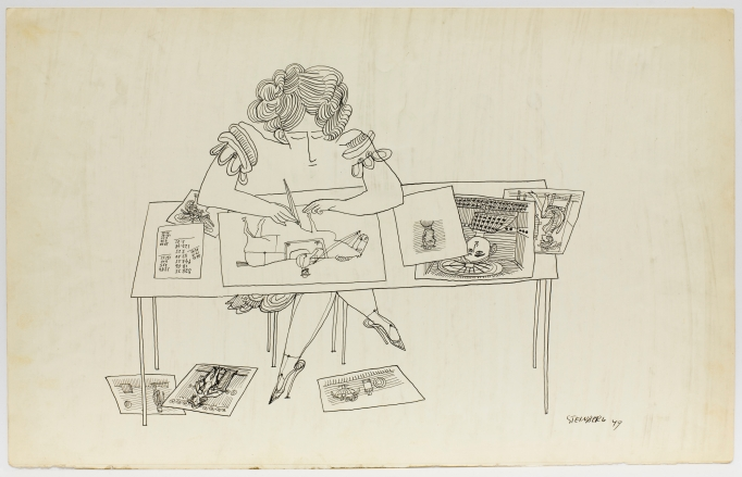 Saul Steinberg, 'Untitled', 1949.
