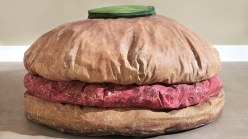 Claes Oldenburg, 'Floor Burger', 1962.