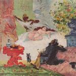 Paul Cézanne, A Modern Olympia, 1873-74.