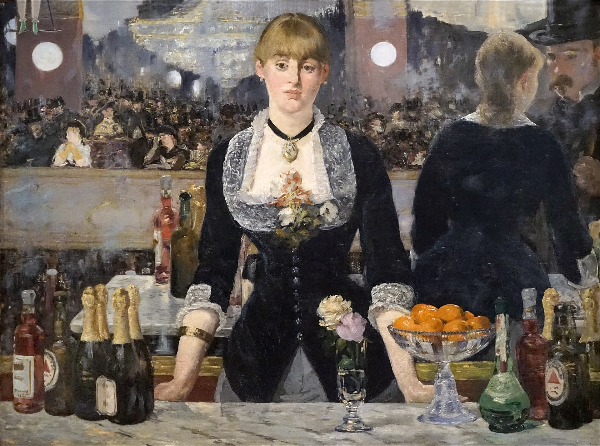 Édouard Manet, A Bar at the Folies-Bergèr, 1882.