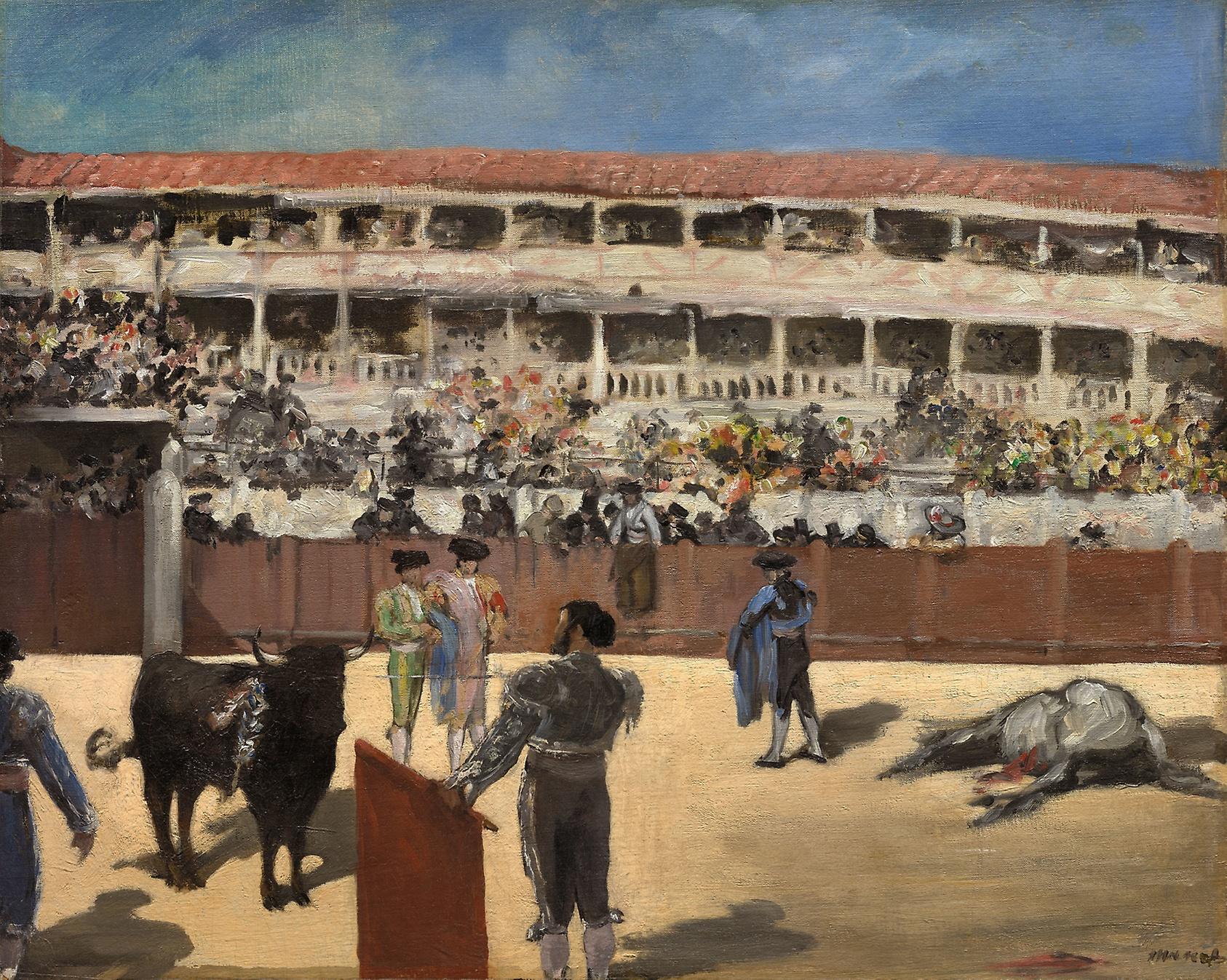 Édouard Manet, Bullfight, 1865–1866.