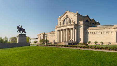 The St. Louis Art Museum, where