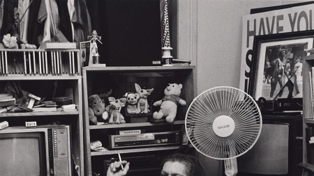 Robert Giard: Sylvia Rivera, Brooklyn, 1999.