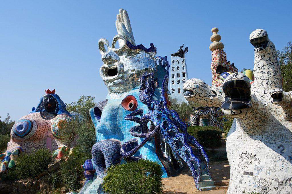 Niki de Saint Phalle, 'Tarot Garden', Garavicchio, Italy.