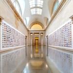 View of Steve McQueen's photo installation