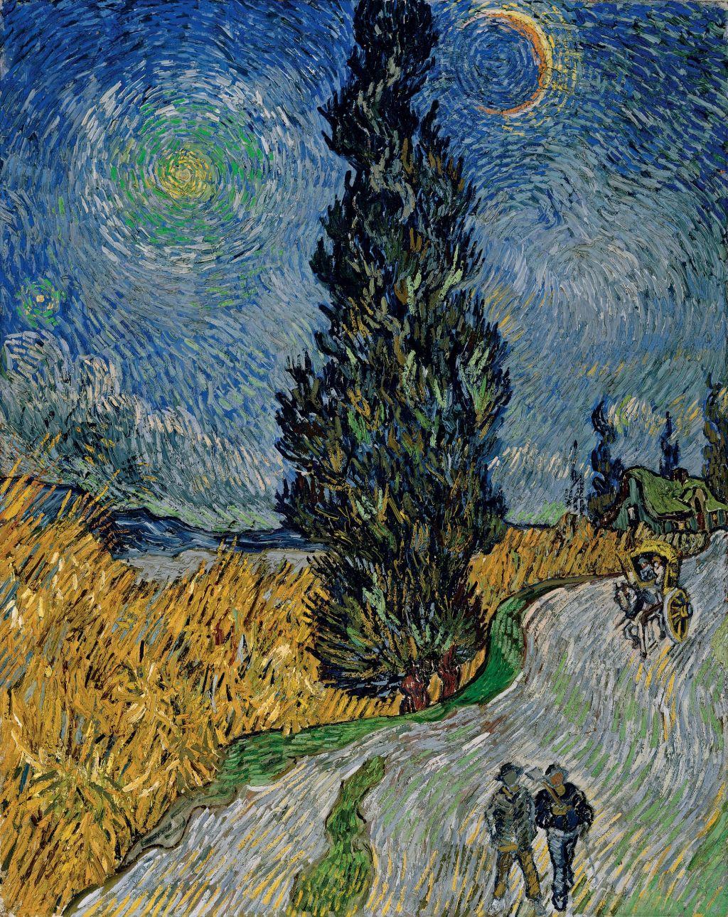 Vincent Van Gogh Tähtikirkas Yö