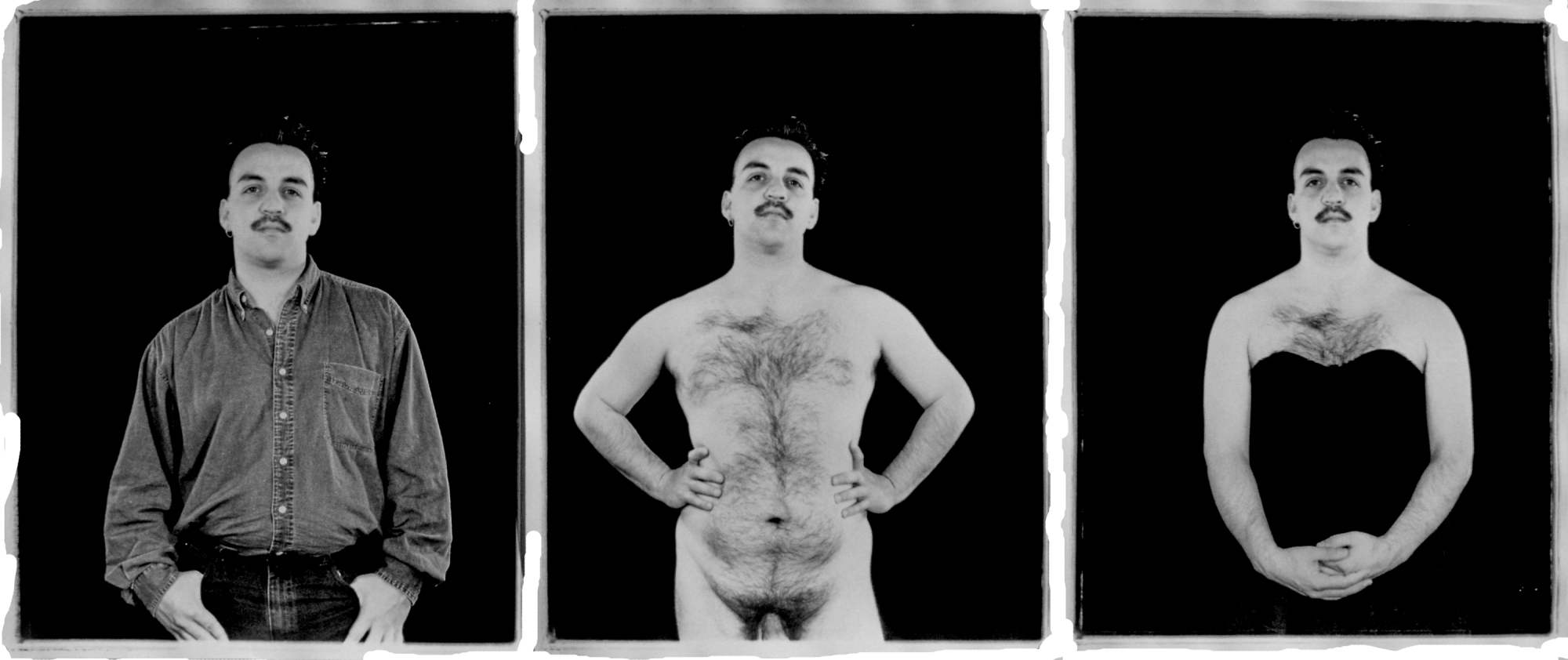 Laura Aguilar, Clothed Unclothed 20, 1992.