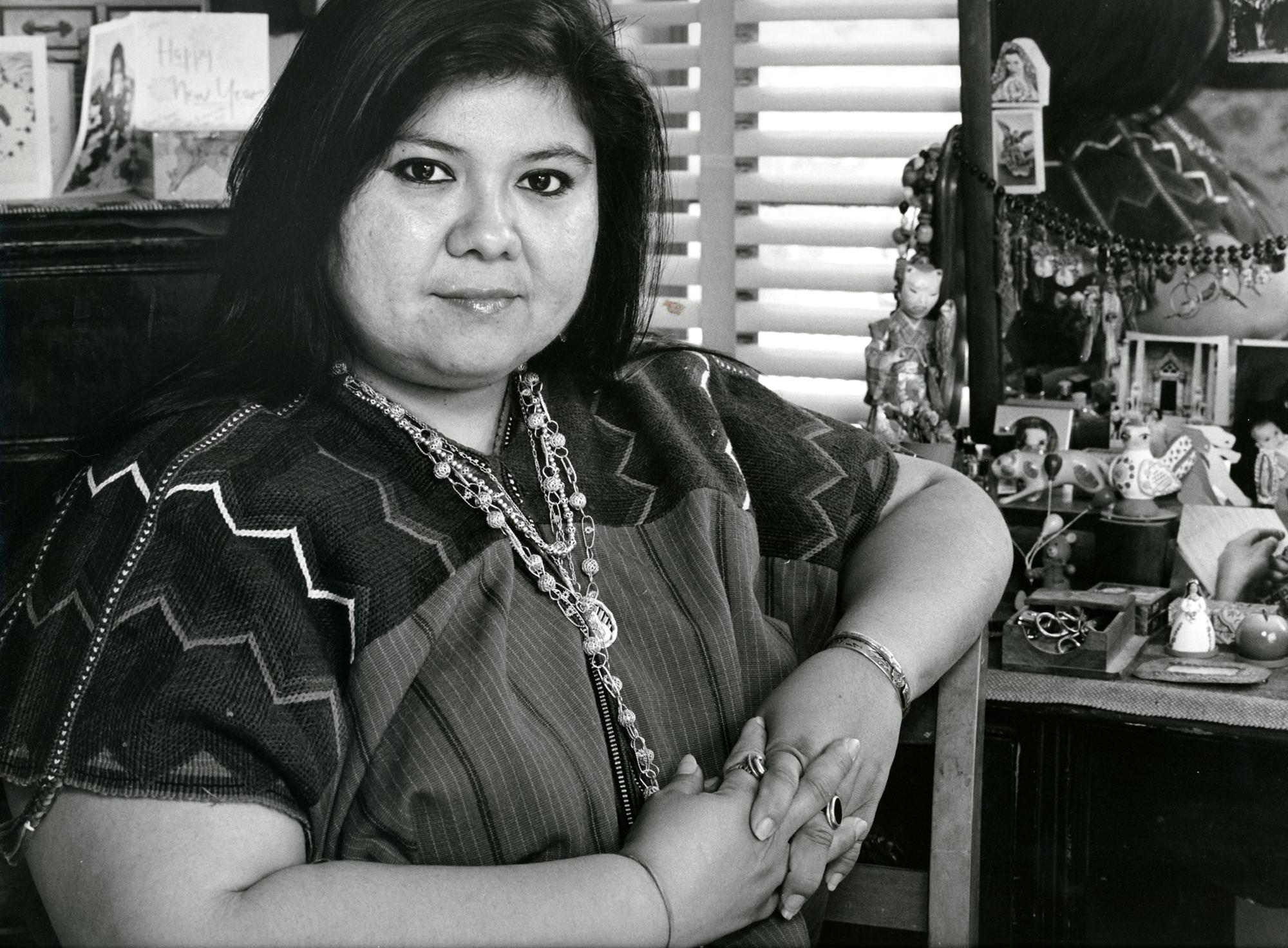Laura Aguilar, Yreina Cervantes, 1990.