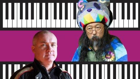 Damien Hirst and Takashi Murakami.