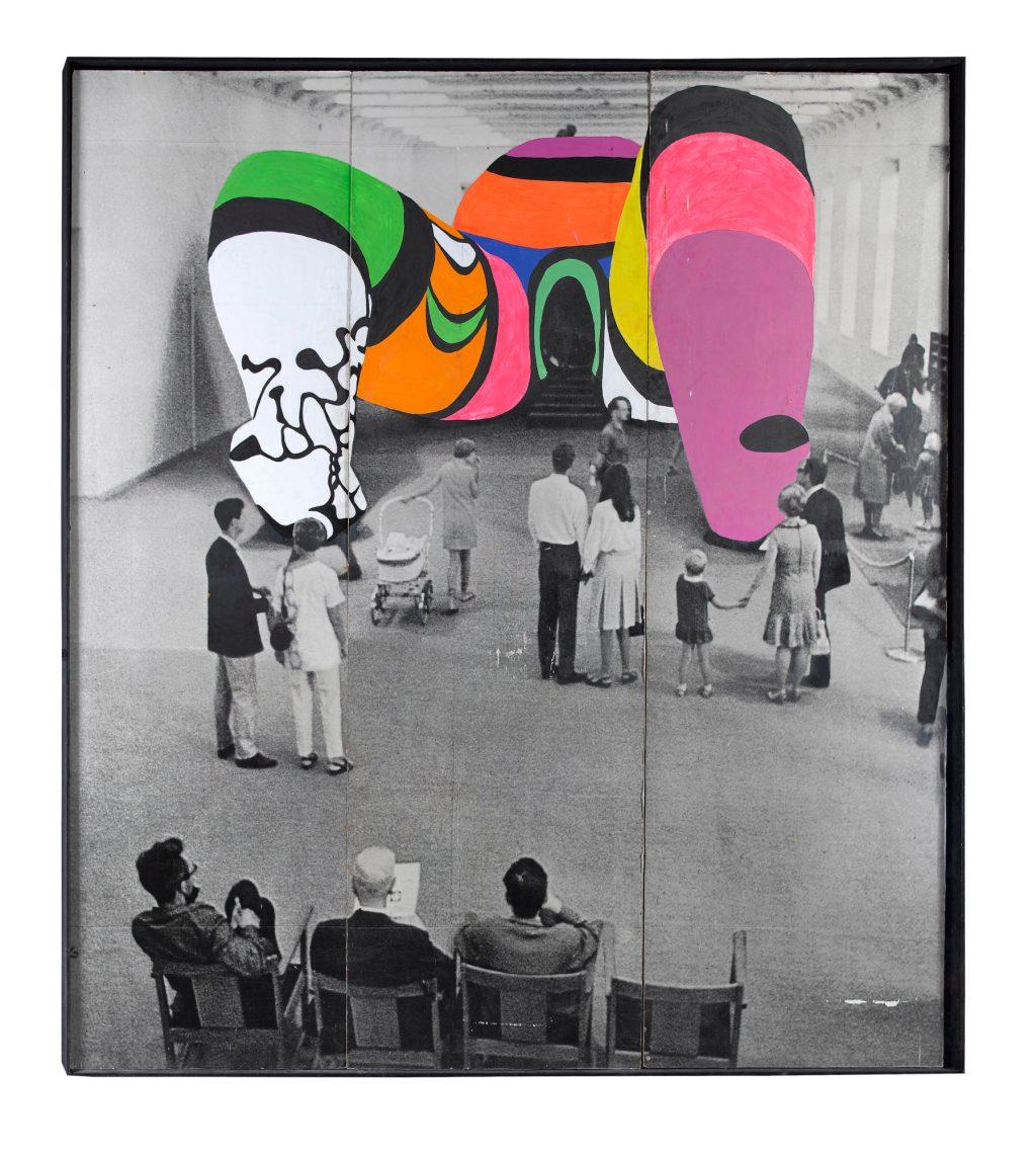Niki de Saint Phalle, 'Photo de la Hon repeinte', 1979.