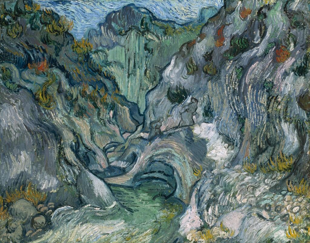 Vincent van Gogh, 'Ravine,' 1889, oil on canvas.