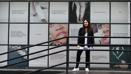 Portrait of Aliza Shvarts at Art