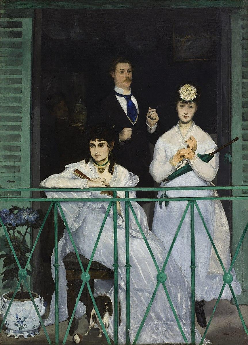 Édouard Manet, The Balcony, 1868-69.