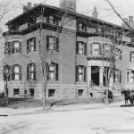 The Phillips house in 1921. After an expansion, the house became the Phillips Collection, a museum founded in response to a pandemic death.