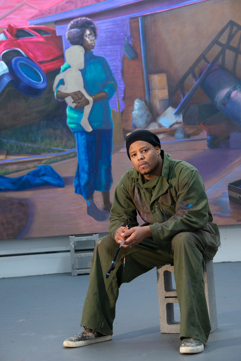 Titus Kaphar, Maker of Poignant Works That Upend Art History, Heads to Gagosian Gallery