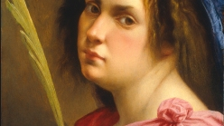Artemisia Gentileschi, 'Self Portrait as a Female Martyr', ca. 1613–14.