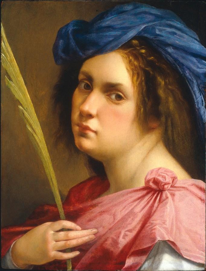 Artemisia Gentileschi, 'Self Portrait as a