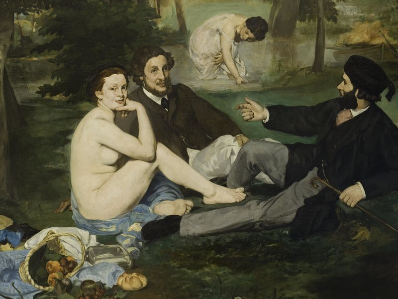 Édouard Manet, The Luncheon on the Grass,1863.