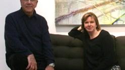 Renato Danese with Carol Corey.