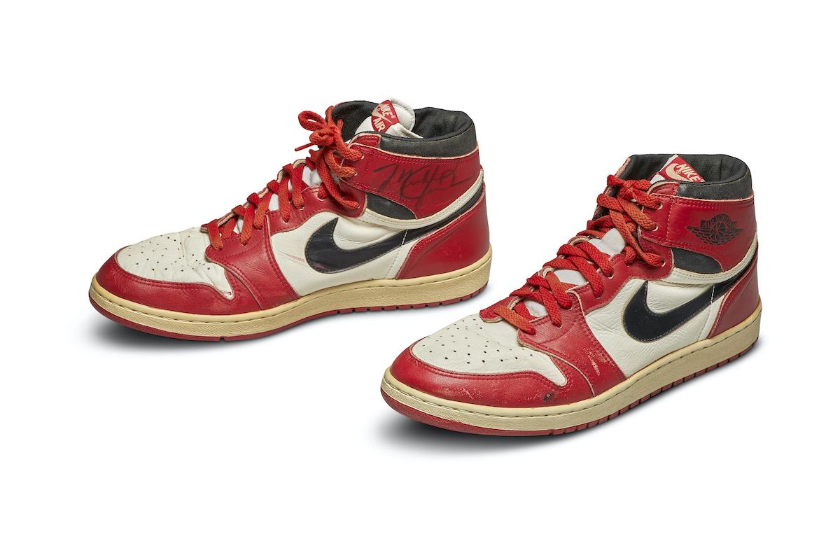 Sotheby's to Auction Iconic Nike Shoes