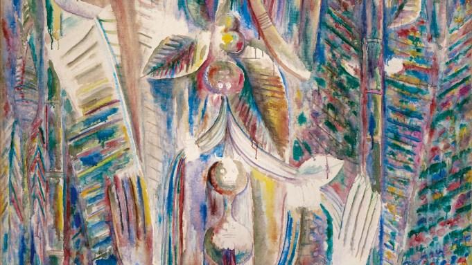 Wifredo Lam, 'Omi Obini', 1943.