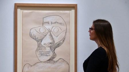 Picasso, Self-portrait, 1972Picasso and Paper exhibition,