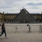 The Louvre has been closed since