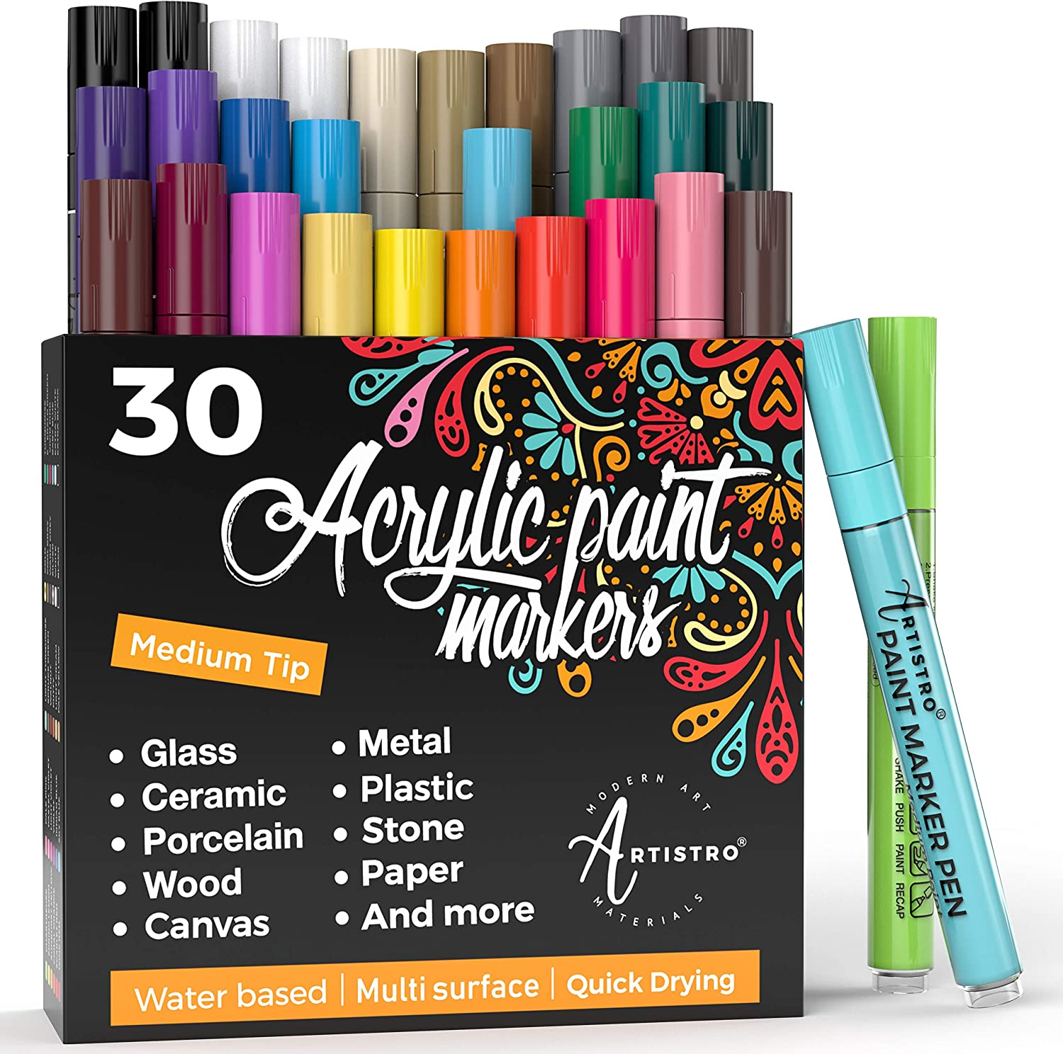 Best Paint Markers For Canvas Ceramic Glass And More Artnews Com