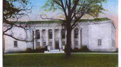Museum of Fine Arts Houston Texas Usa. . Unattributed Illustration in A Souvenir Folder of PostcardsMuseum of Fine Arts, Houston, Texas, Usa