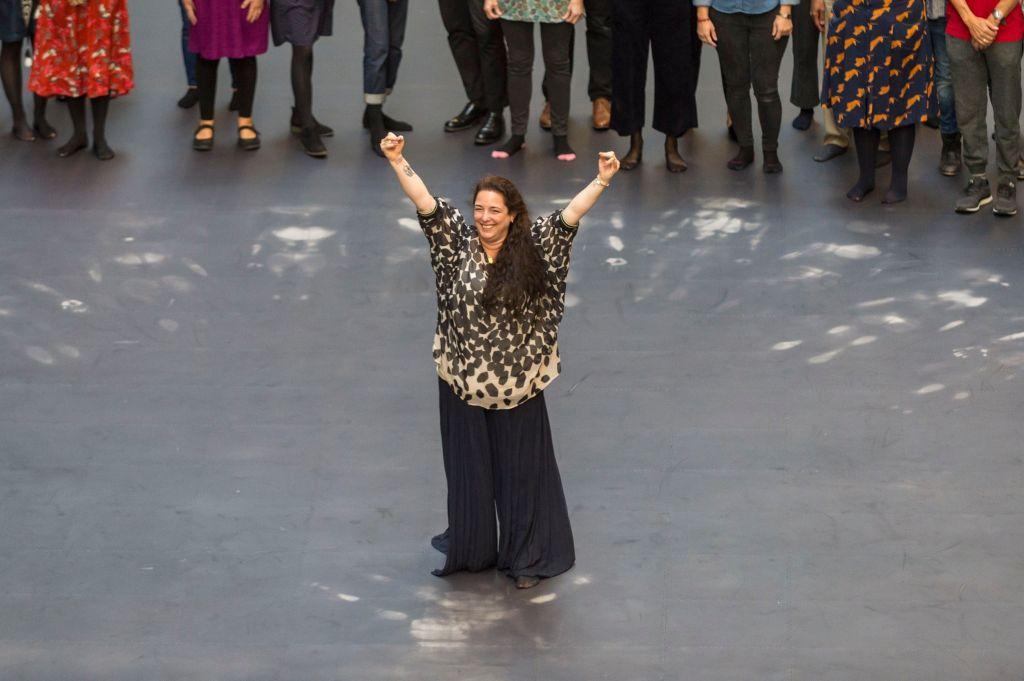 Tania Bruguera at Tate Modern in 2019.