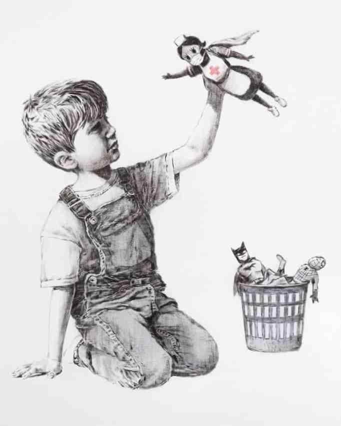 Banksy, 'Game Changer', 2020