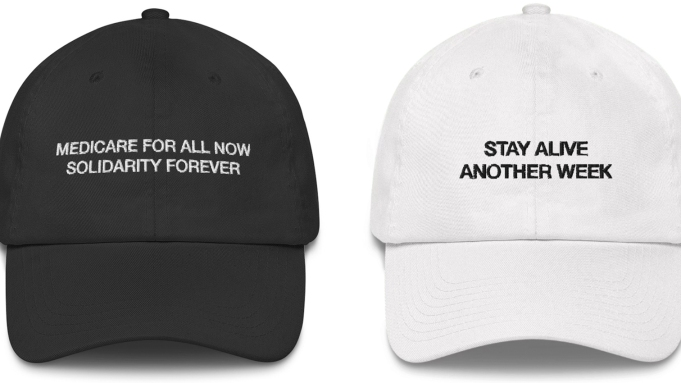 The Death Panel hats: The black