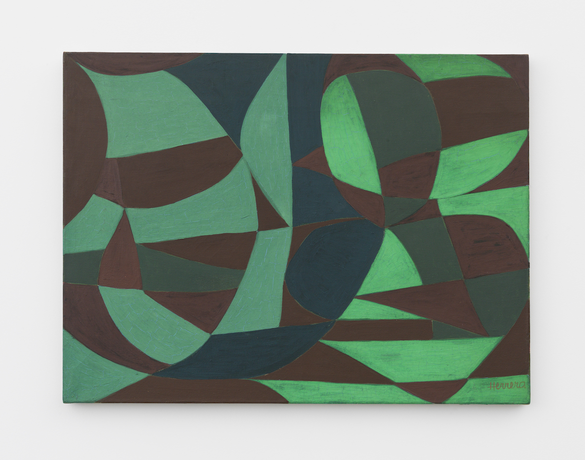 Carmen Herrera, 'Green Garden,' 1950, acrylic on canvas