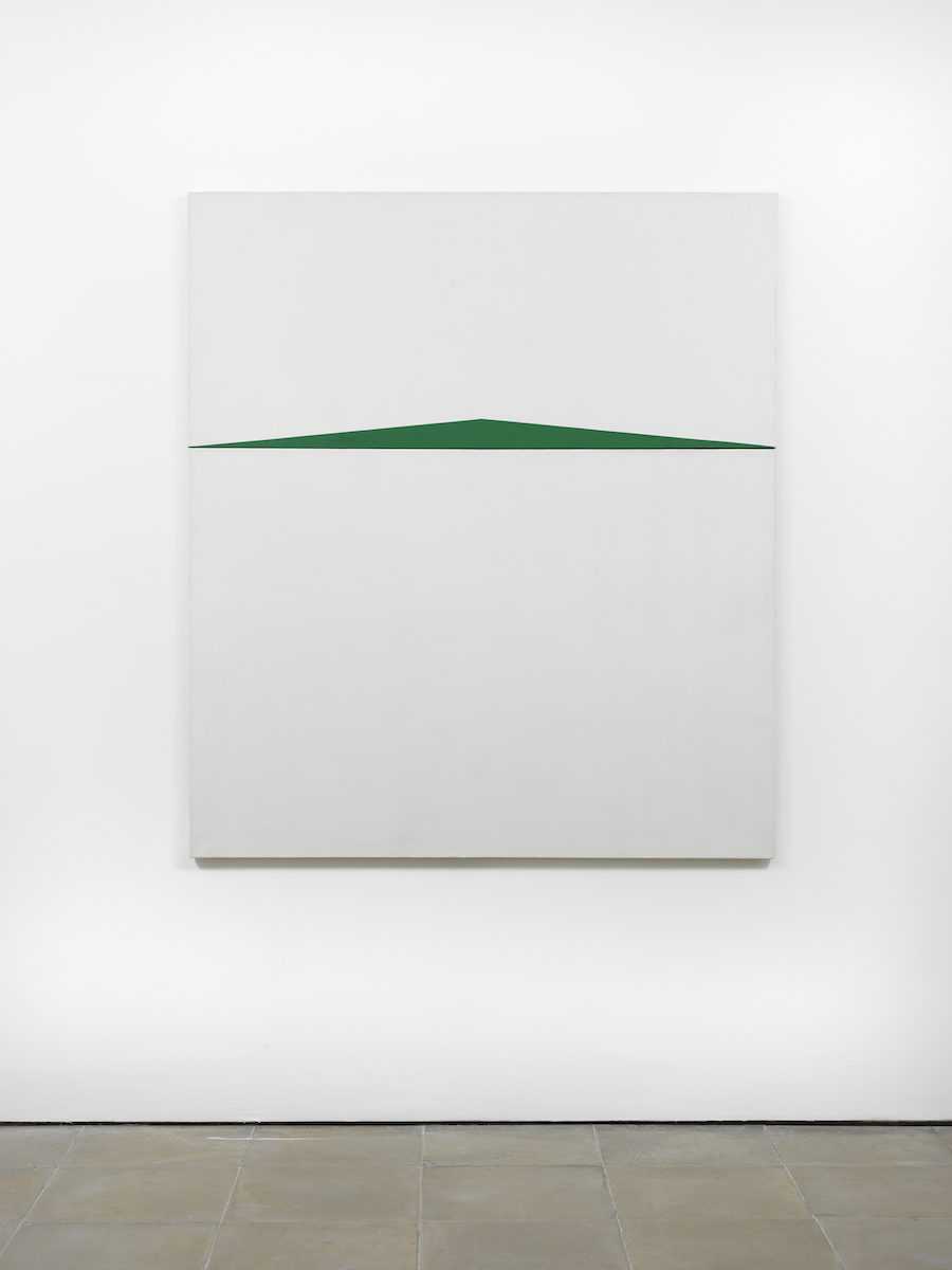 Carmen Herrera, 'Blanco y Verde,' 1959, acrylic on canvas