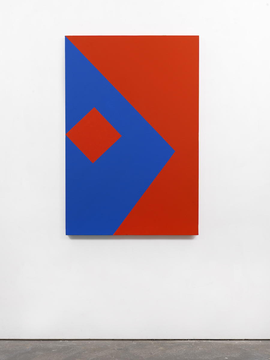 Carmen Herrera, 'Origami,' 1987, acrylic on canvas
