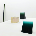 Works by Peter Alexander at Parrasch Heijnen Gallery in Los. Angeles in 2016.